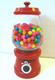 Image result for gumball machine out of flower pot