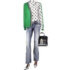 I go dotty over fashion!
