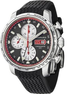 Chopard Mille Miglia 2013 Limited Edition Grey Dial Black Rubber Mens Watch 168555-3001 - Listing price: $6,930.00 Now: $5,499.99