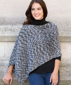 Free Pattern Friday: Knit Poncho Pattern from Red Heart!