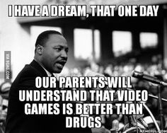 Funny pictures about Maybe One Day My Dream Will Come True. Oh, and cool pics about Maybe One Day My Dream Will Come True. Also, Maybe One Day My Dream Will Come True photos. Video Games Girls, Video Games Funny, Funny Games, Gamer Humor, Gaming Memes, Video Game Quotes, Meanwhile In Canada, King's Speech, First World Problems