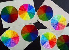 Kirby Middle Visual Art: 6th and 7th Grade: color wheel tint & shade