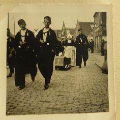Duits,een fotoboek van een Luftwaffe officier gestationeerd in Nederland - WO2 #NoordHolland #Volendam