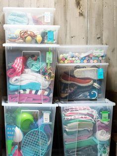 Ikea Organization, Ikea Storage, Ikea Samla, Ikea Boxes, Transparent Box, Clothing Storage, Getting Organized, Home Improvement, Home
