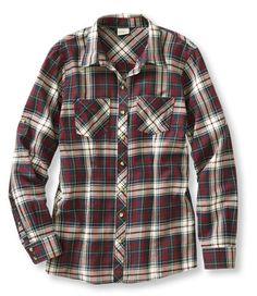 LLBean Flannel Camp Shirt