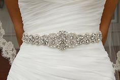 Crystal sashes for wedding, Wedding Bridal Belt, Braided Rhinestone Sash QueenDream http://www.amazon.com/dp/B00RB6HDX8/ref=cm_sw_r_pi_dp_t9fiwb190NSTC