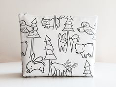 Woodland Diaper Pouch by EmmasStory on Etsy