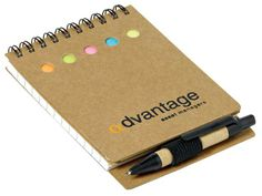 Notepad And Sticky Flags at Eco Office | Ignition Marketing Corporate Gifts