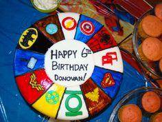 Superhero Slice Cake