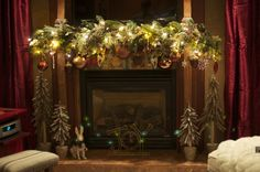 Plaster Fireplace Mantel Affordable Furniture Decorative Mantels Design Room Craftsman Fireplace Mantel Ideas Elegant Christmas With Green And White Flower Ornaments Luxury Balls Comfy Seating Fur Bedding Red Curtains Ideas For Home Decor, Decorative And Affordable Mantelpiece Ideas For Indoor Fireplace Decor: Interior