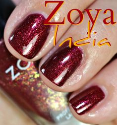 INDIA - Zoya Ignite Nail Polish Swatches