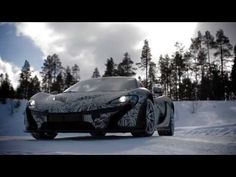 The McLaren P1™: tested to extremes