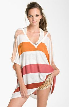 1362aae89f33a Haute Hippie Colorblock Oversized Tunic available at  Nordstrom Hippie Tops