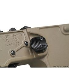 V7 Weapon Systems Extended Magazine Release Button For AR15 Style 5.56/.223 Rifles - Black