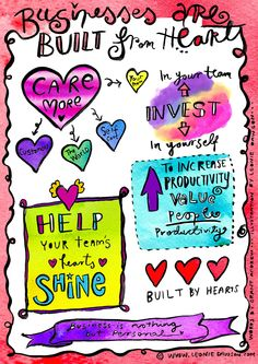 BUSINESSES ARE BUILT FROM HEARTS: A MEANDERING MANIFESTO