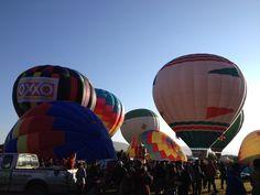 Más detalles coloridos antes de despegar los globos en el Festival Internacional del Globo en #León #ViveFIG