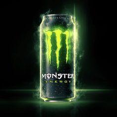Monster Energy on Behance Ads Creative, Creative Advertising, Filles Monster Energy, Monster Energy Drink Logo, Love Monster, Energy Projects, Photoshop Design, Marvel Art, Energy Drinks