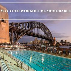 When travelling do you look for the 'must go' places to work out? Check out this pool in Sydney below the harbour bridge and beside Luna Park... What an iconic place to get active. by sweatytraveller http://ift.tt/1NRMbNv