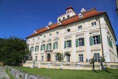 10 verträumte Schlösser in Kärnten Mansions, House Styles, Weimar, Formal Gardens, Art Gallery, Forts, Alps, Manor Houses, Villas