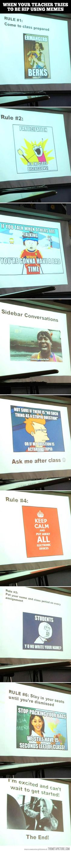 Meme class…