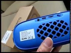 Unboxing & Review Lumsing® Portable Wireless Bluetooth Speaker