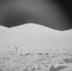 Watched The Last Man on the Moon. - Picture of Gene Cernan walking on the moon. He died January 16, 2017.