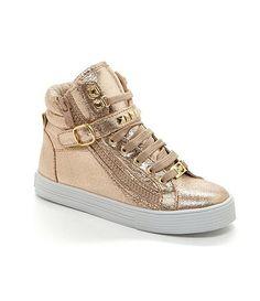 MICHAEL Michael Kors Girls´ Ivy Shine Casual High-Top Sneakers