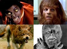 (Robert's Comment) When you begin to think about them, the list of convincing lycanthrope attempts seems endless.  Lon Chaney, Michael Jackson, Michael J Fox, Michael Landon, Jack Nicholson, Tom Everett Scott, Stephen Geoffreys, and Benicio Del Toro, and that's even before you get to all the Abbot & Costello films, The Howling series, and the Twilight Saga.