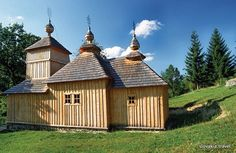 Slovakia, Korejovce - Wooden church