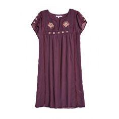 Siham Embroidered Silk Dress | Calypso St. Barth
