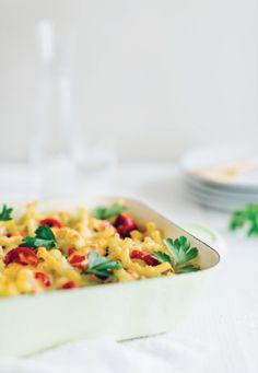 Veggie macaroni Pasta, Macaroni, Meal Prep, Food Porn, Veggies, Food And Drink, Vegetarian, Lunch, Healthy Recipes
