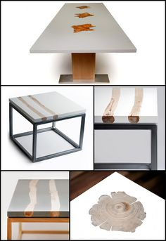 MTH Woodworks' Wood-and-Resin-Blended Furniture Designs - Core77