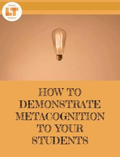Metacognition is such an incredible tool for improving reading comprehension. It is also, however, a tough skill to master. Keep reading to learn how to teach metacognition through a demonstration technique so your students know how and why to use it. Improve Reading Comprehension, Comprehension Strategies, Teaching Strategies, Teaching Resources, Instructional Coaching, Instructional Strategies, Instructional Technology, Teaching Secondary, Student Teaching