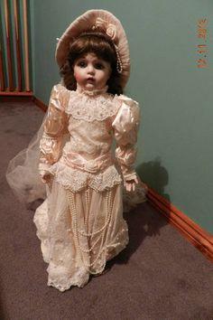 Bebe Bru Victorian Heirloom Bride Doll