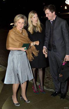 Le prince Amedeo de Belgique et Elisabetta Maria Rosboch von Wolkenstein