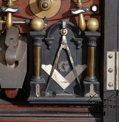 Detail H O Studley's Tool Cabinet
