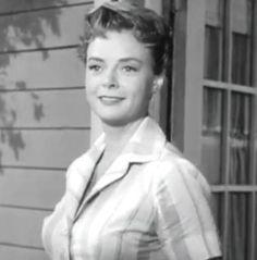 June Lockhart as Timmy's mom on Lassie