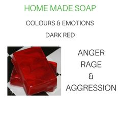 Home Made Soap, Soap Making, Dark Red, Rage, Colours, Homemade, Homemade Dish Soap, Home Made, Hand Made
