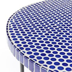 Mosaic Tiled Coffee Table - Blue Penny #westelm