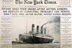 Three Paper Items from Titanic Have Been Sold at a New York Auction - A Titanic Menu Brought a Hefty Price - The Items Were Only a Handful of Known Examples