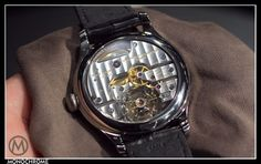 Laurent Ferrier Galet Secret Tourbillon Double Spiral movement. Monochrome Watches, Spiral, Smart Watch, Pebble Stone, Watch, Smartwatch