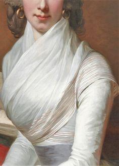 Portrait of a Lady byJean- Laurent Mosnier