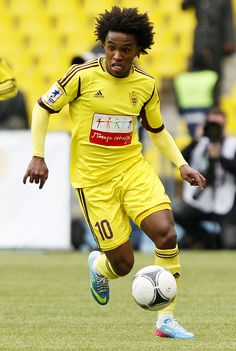 ~ Willian on Anzhi Makhachkala ~