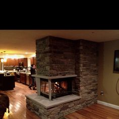 Luxury Gas Fireplace for Basement