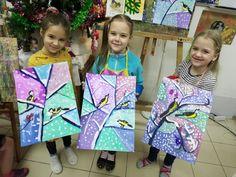 Kids Graphics, 2nd Grade Art, Virtual Art, Back Art, Art Sites, Art Lessons Elementary, Crafty Kids, Diy Canvas Art, Winter Art