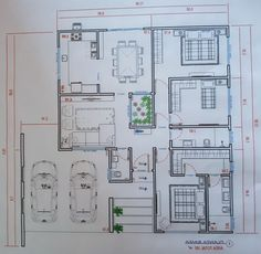 Home Map Design, Home Design 2017, Design Your Own Home, House Design, Log Home Floor Plans, Small House Floor Plans, Dream House Plans, House Layout Plans, House Layouts