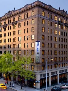 Hotel Andra, Seattle, WA - was completed in 1926 with 119 rooms filling 10 stories. Many ghosts have been reported throughout the years. One of the most common apparitions is that of a woman in 1930's garb who stands at the edge of guests' beds before disappearing. Other activity includes objects that move on their own and ghostly jazz music on the 9th floor that has no source.