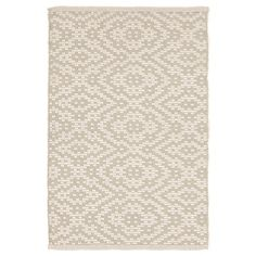 Bunny Williams For Dash & Albert Poppy Cement Indoor/Outdoor Rug