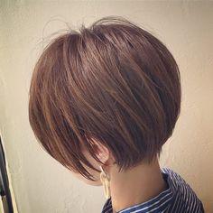 One Hair, Hair Dos, Hair Dye Colors, Hair Color, Short Bob Hairstyles, Cool Hairstyles, Short Hair Cuts, Short Hair Styles, Haircut And Color