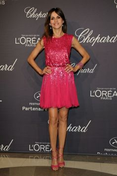 Goya Toledo in Elie Saab | L'Oreal Chopard Party, Cannes 2012